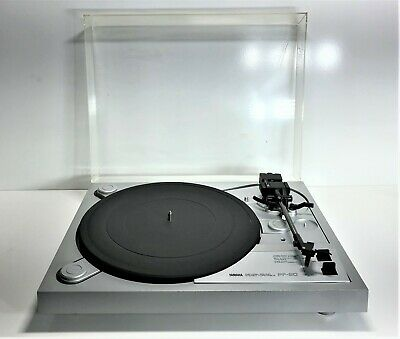 Vintage Yamaha Pf-20 Natural Sound Stereo Turntable Record Player | Grey