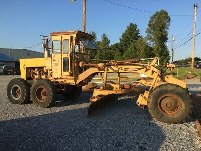 GALION 160B MOTOR Grader Cummins HR 160 Engine Only 7700 Hrs Runs Great 89350