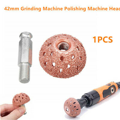 42mm Tire Repair Grinding Head Dome Buffing Wheel Come with Linking Rod Adapter