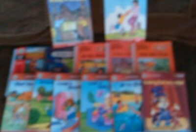 Lot of 13 Leap Frog Books, 8 Tag 5 School House Books