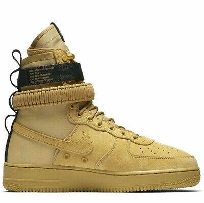 best service 7ff34 7641b NIKE SF AIR Force 1 Club Goldblack Scarponcino Sneakers Scarpe Uomo  864024-700 - EUR 114,00  PicClick IT