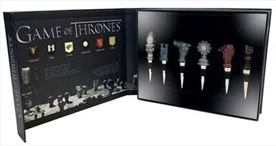 Game Of Throne  House Sigil Bottle Set (6)  Tappi Per Bottiglie Trono Di Spade