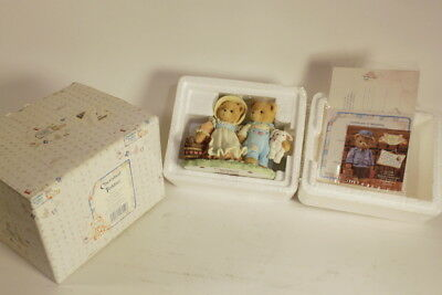 """Cherished Teddies 1993 Jack and Jill """"Our Friendship Will Never Tumble"""" #624772"""