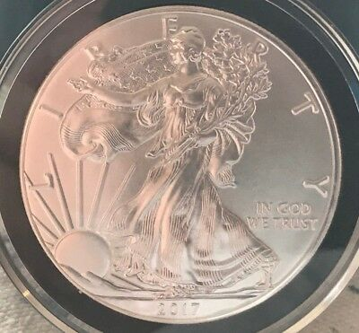 2017 1 oz. American Silver Eagle in Airtite