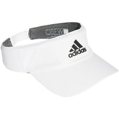 fa582632e9efb2 Adidas Hat Training Climalite Running Visor Cap Fashion Logo White DT5253  New