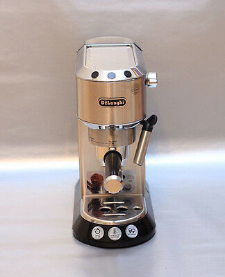 Delonghi EC680 Dedica 15 Bar Pump Espresso Latte Cappuccino Maker, Stainless