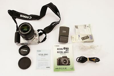 Canon EOS 400D kit with EFS 18-55mm lens
