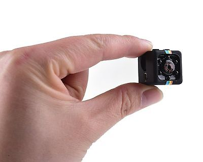 Mini Camera SQ11Ful HD 1080P Camcorder Spy Cameras with Night Vision & Motion