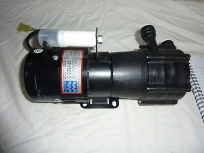 MARCH MAY MSP-1K.2 SINGLE PHASE PUMP MOTOR ASSEMBLY 230 VAC 50 Hz