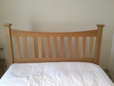 Lovely Oak Headboard For Double Bed