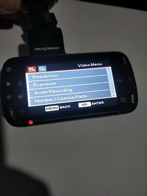 Nextbase 312GW Dash Cam ~ Charger & 16GB SD card - USED
