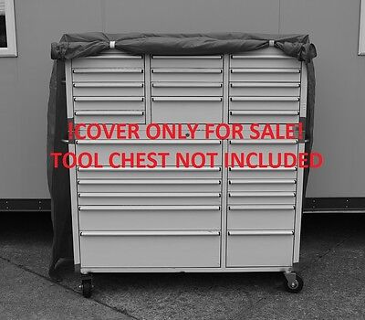 Us Pro Tools Massive Tool Chest Box Protective Cover Stainless Steel Cabinet 54""