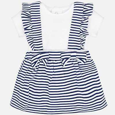 Mayoral Completo T-shirt e gonna 1811-043 Blu Bambina Neonato