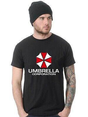 T SHIRT Umbrella Corporation Corp top tee Inspired by Resident Evil logo gamer