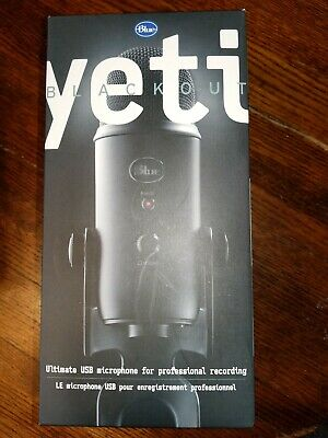 Blue Microphones Yeti Condenser Microphone - Blackout Edition