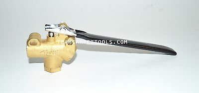"""Carpet Cleaning 1/4"""" DAM Brass SOFT TOUCH Angle Valve Truckmounts Extractors"""