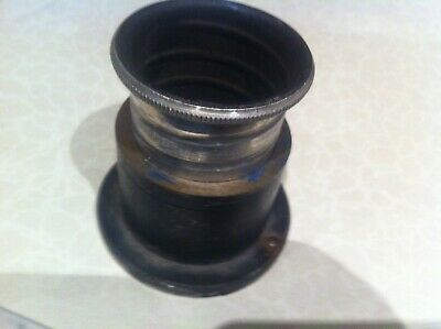 Projector Lens Maginon 1:2.8/50 No:774097 By Will Wetzlar In Case And Brass Came