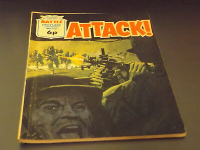 BATTLE PICTURE LIBRARY NO 658,dated 1972 !,V GOOD FOR AGE,VERY RARE,47 yrs old.