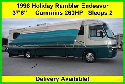 1996 Holiday Rambler Endeavor Used Diesel Pusher Motor Home Coach RV MH Class A