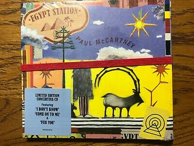"Paul Mccartney ""egypt Station"" Factory Sealed Cd Limited Edition Concertina Cd"