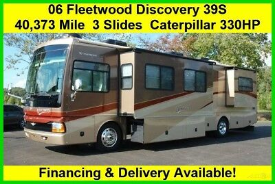 2006 Fleetwood RV Discovery Used Diesel Pusher Motor Home Coach Motorhome MH Cat