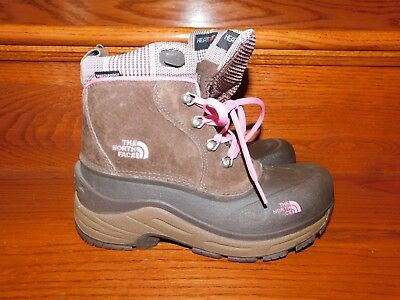 9edf97b0e THE NORTH FACE Girls Size 5 Fur Lined Lace Up Snow Boots - $24.99 ...
