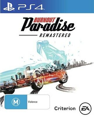 Burnout Paradise, Playstation 4, PS4 game,  BRAND NEW