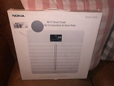 Withings/Nokia Body Cardio -Heart Health & Body Composition WiFi Scale-rrp £139