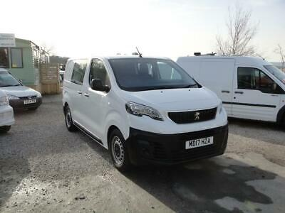 2017 Peugeot Expert 1.6 Blue HDi Professional Compact 1000 **6-SEATER CREW VAN**