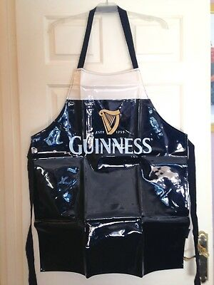 "Genuine ""Guiness"" Merchandise Apron. New No Tags. Great Rugby Six Nations Gift."