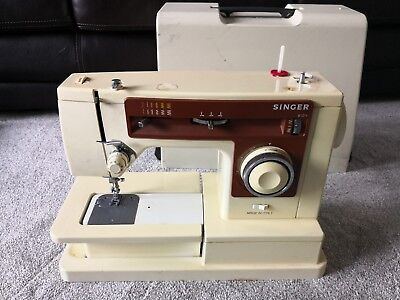 Singer Sewing Machine Model 6104 With Case