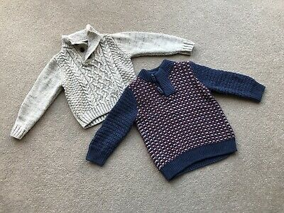 Baby Boys Clothes 9-12 Months Bundle Jumpers