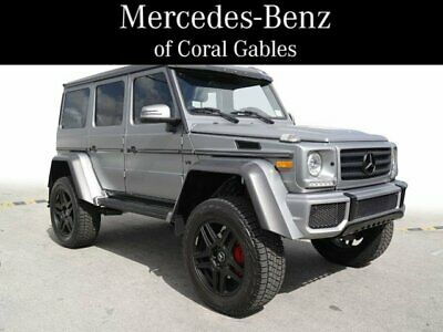 2018 G-Class G 550 4x4 Squared 2018 Mercedes-Benz G-Class G 550 4x4 Squared 4,819 Miles  Sport Utility Twin Tur