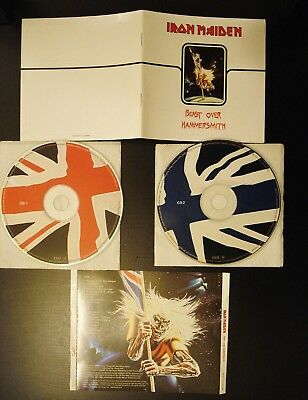 Iron Maiden - Beast Over Hammersmith - 2 Cd-Set - 24 Page Booklet