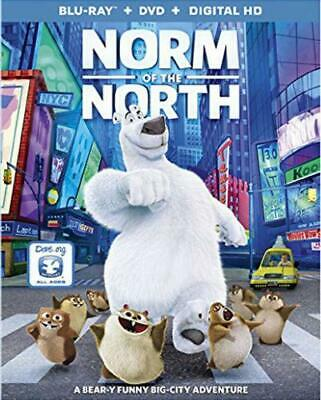 Norm of the North (Blu-Ray+DVD+Digita) New w/SLIP Walmart exclusive
