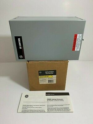 New! Ge / General Electric Lighting Contactor Cr260L21Ca021Aa0 110/120 50/60
