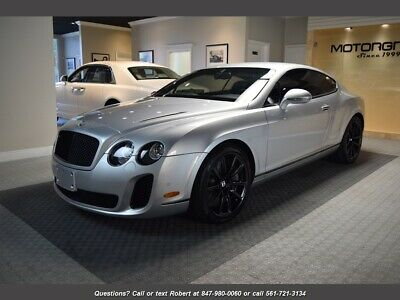 2010 Continental GT Supersports 2010 Bentley Continental GT Supersports, MSRP $273k, Only 13k Miles, FL