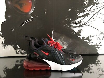 75f3f44da3 WOMENS NIKE AIR Max 270 Oil Grey & Speed Red | Size 5 | Ah6789 003 ...