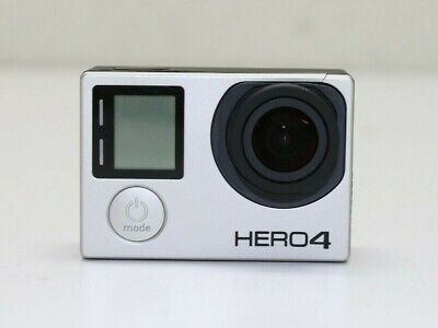 GoPro Hero 4 12MP Silver Edition CHDHY-401 Touch Screen Camcorder
