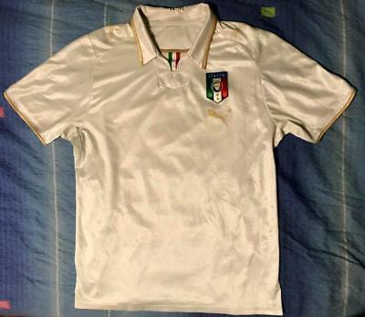 7ce83ca7f Italy National Team 2008-2010 Away Football Soccer Shirt Jersey Maglia Puma  L
