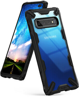 For Samsung Galaxy S10 Plus Case Ringke [FUSION-X] Shockproof Armor Bumper Cover