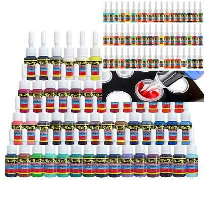 Solong Tattoo Ink Set 54 Complete Colors Pigment Kit 1/6oz (5ml) Supply for...
