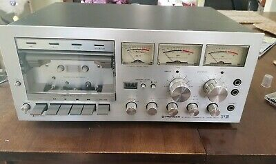 Pioneer ct-f700 Stereo Cassette Tape Deck Dolby Japan