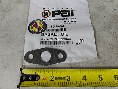Oil Return Turbo Gasket for Cummins L10 M11 ISM. PAI# 131494 Ref 3899343 8929285