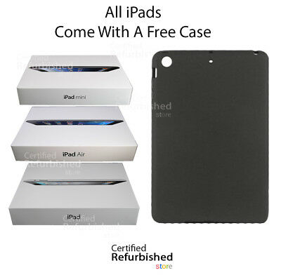 Apple iPad 2,3,4 Mini Air 16GB 32GB 64GB 128GB WiFi+Cellular 3G/4G ---- BUNDLE
