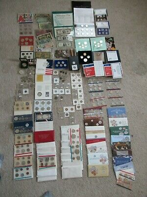 BIG COIN COLLECTION MORGAN DOLLAR,HALF's $ SILVER,US,WORLD paper currency Lot