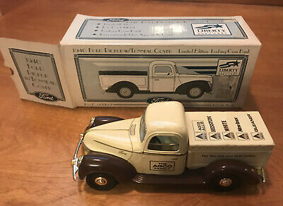 Liberty Spec Cast 1940 Ford Pickup Limited Edition Die Cast Bank AGCO FAMILY