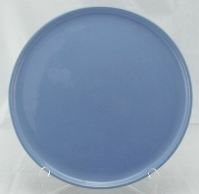 """Periwinkle Bauer Pottery of California Plain ware Tray 13"""" Dia."""