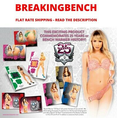 SARA UNDERWOOD 2019 Benchwarmer 25 YEARS 8-BOX CASE BREAK #M973