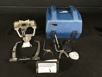 Denar Mark II Semi Adjustable Dental Articulator Sl